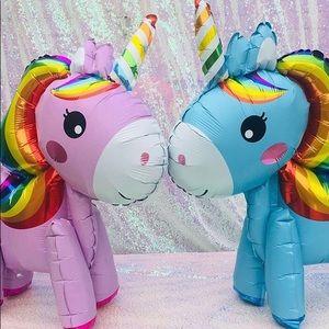 Party Supplies - Pink Unicorn Airwalker Balloons
